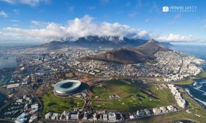 The Weekly Frame : Cape Town from a Bird's Eye