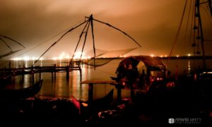 Kochi at night, explorations and conversations