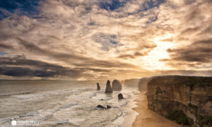 The Weekly Frame – Sunset over the Twelve Apostles